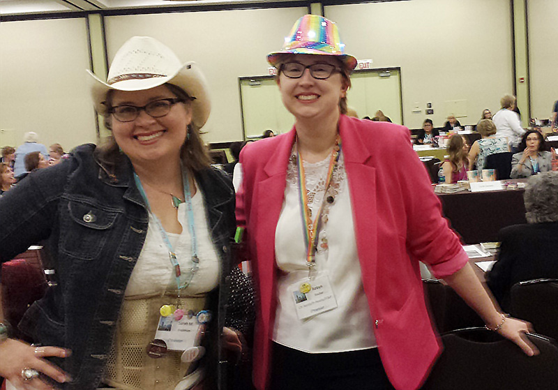 Romance authors Sarah M. Anderson and Robyn Bachar